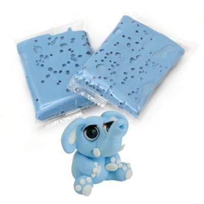 Самосъхнещ моделин цвят син светло -14~15 грама