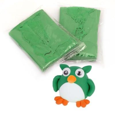 Самосъхнещ моделин цвят зелен -14~15 грама
