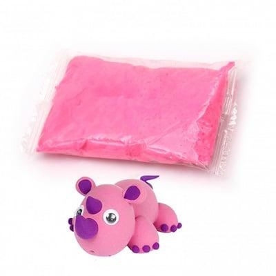 Самосъхнещ моделин цвят розов тъмно -14~15 грама