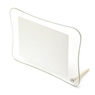 Рамка стъкло за сублимационен печат 17.3x25.5 см за снимка 13x18 см