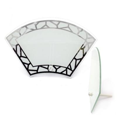 Рамка стъкло за сублимационен печат 19.5x28.7 см за снимка 11.2x20.5 см с огледало