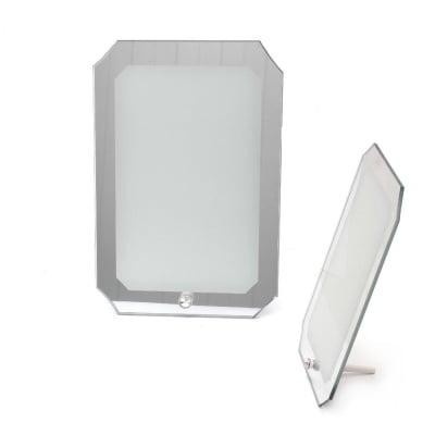 Рамка стъкло за сублимационен печат 17.8x26.6 см за снимка 13.8x21.8 см с огледало