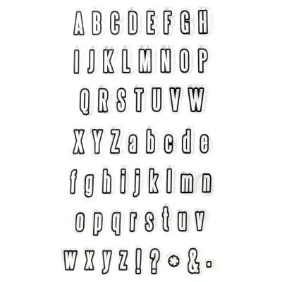Силиконов печат 11x20 мм букви