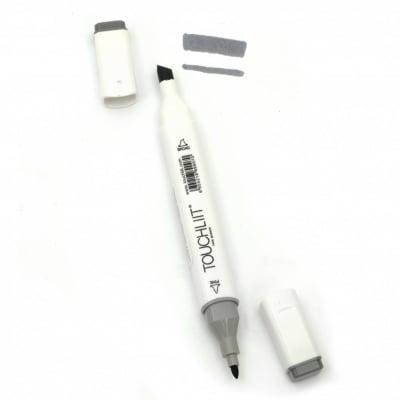 Двувърх маркер с алкохолно мастило за рисуване и дизайн CG5 -1 брой