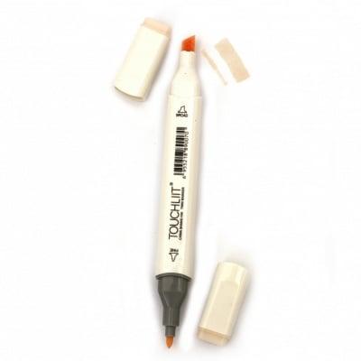 Двувърх маркер с алкохолно мастило за рисуване и дизайн 132 -1 брой