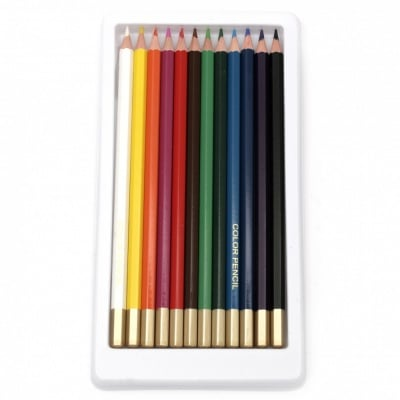 Комплект цветни моливи WORISON -12 цвята