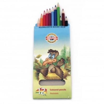 Цветни моливи KOH-I-NOOR 12 цвята