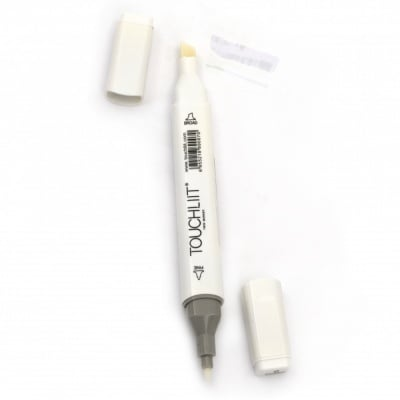 Двувърх маркер с алкохолно мастило за рисуване и дизайн 00 без цвят -1 брой