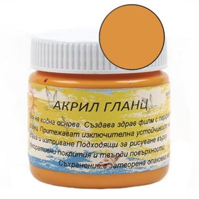 Акрилна боя гланц 75 мл -оранжева VG055
