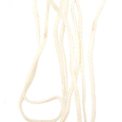 Фитил за свещи 2 мм плосък - 1 м