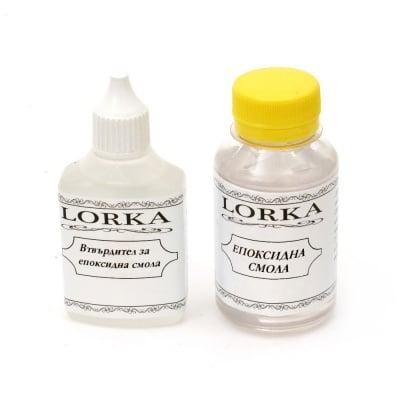 Епоксидна смола двукомпонентна100 мл + втвърдител 50 мл