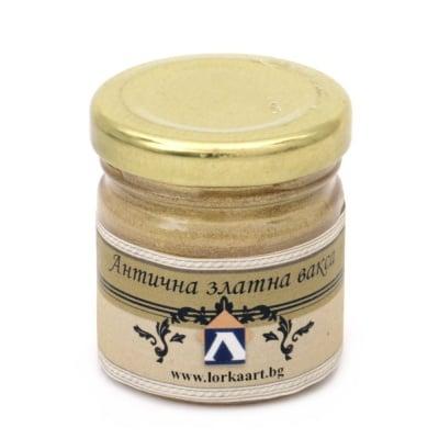 Антична вакса 01AV златна - 35 мл.
