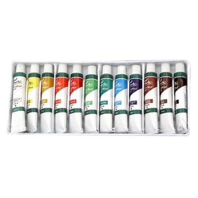 Комплект маслени бои Mont Marte 12 цвята x 12мл