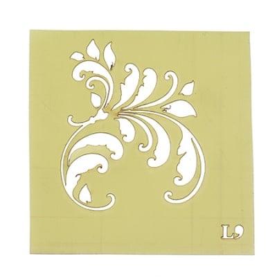 Шаблон за многократна употреба размер на отпечатъка 5.2x6.2 см Л9