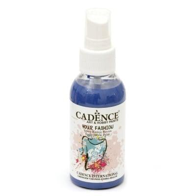 Боя текстилна спрей CADENCE 100 мл. - NAVY BLUE 1110