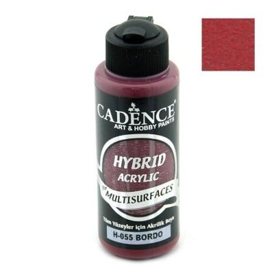 Акрилна боя CADENCE HYBRID 120 мл - BORDEAUX H-055