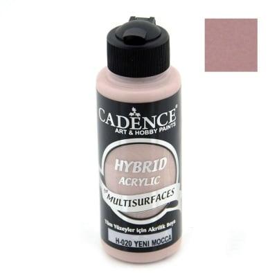 Акрилна боя CADENCE HYBRID 120 мл - NEW MOCCA H-020