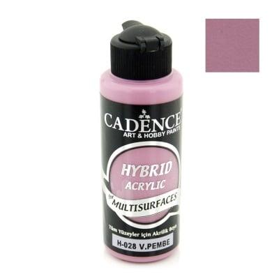 Акрилна боя CADENCE HYBRID 120 мл - VIKTORIA PINK H-028