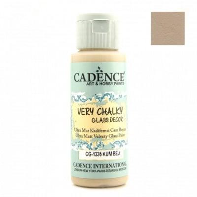 Боя за стъкло и порцелан CADENCE 59 мл - SAND BEIGE CG-1335