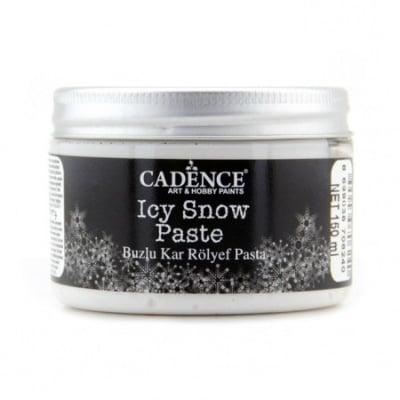 Релефна паста с ефект на сняг CADENCE ICY SNOW PASTA - 150 мл.