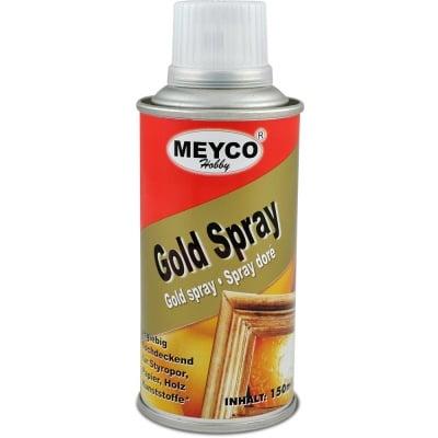 Спрей боя металик MEYCO Gold Spray 150 мл злато
