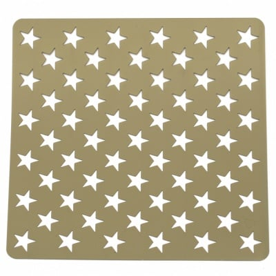 Шаблон за релеф и Mix media 20х20 мм звезди