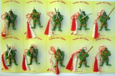 Мартеници костенурки 10 броя