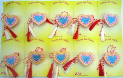 Мартеници сърце 10 броя