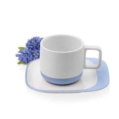 Чаша с чинийка за кафе и чай