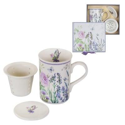 Лавандула MUG чай +филтър с капаче