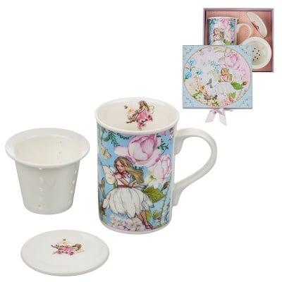 Комплект Фея  - чаша с филтър за чай