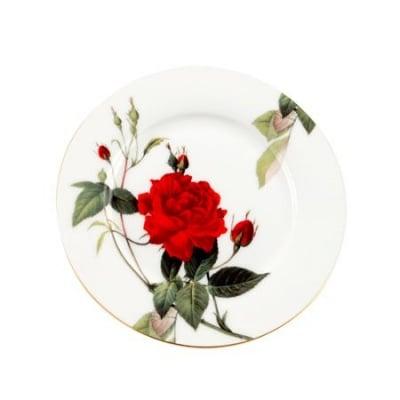 Комплект четири чинии с роза