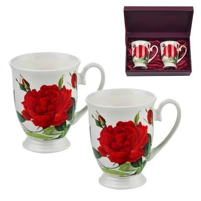 Комплект от две чаши роза