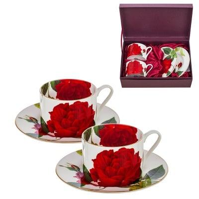 Комплект 2 чаши класик роза