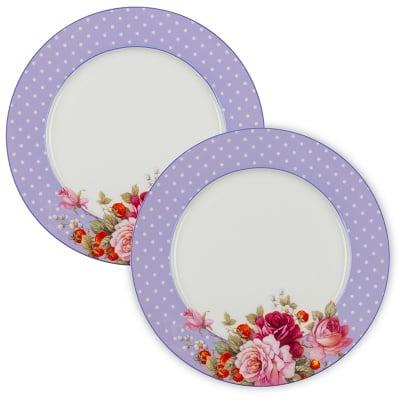 Перла к-кт лилави чинии