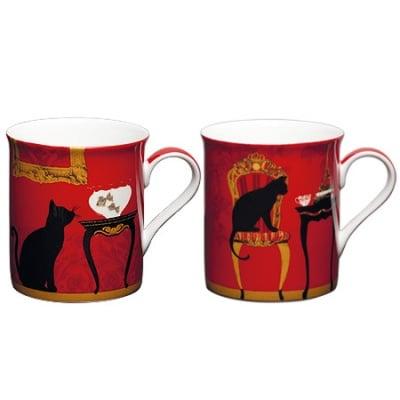 Котки комплект 2 чаши мъг