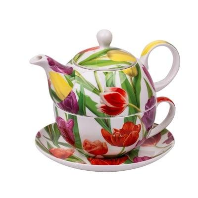 Лалета 57 чаша и чайник