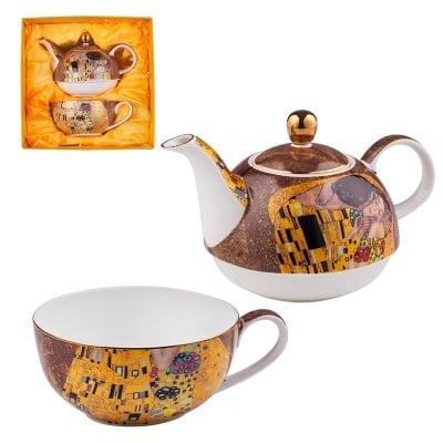 Комплект от чаша и чайник