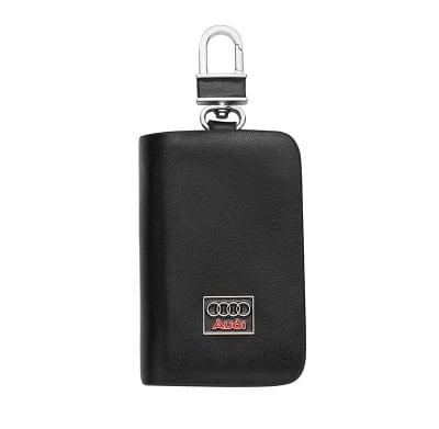 Ключодържател с лого на Audi - черен