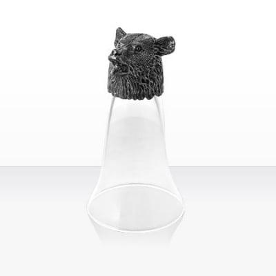 Чаша вино мечка