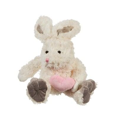 Плюшено зайче със сърце