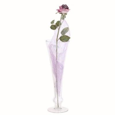 Роза малка пурпур