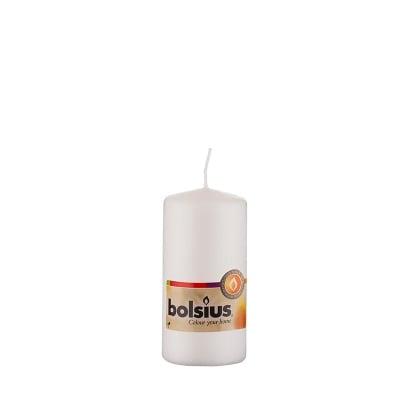 Свещ бяла 120/60мм.