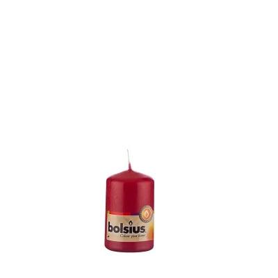 Свещ червена 80/50мм.