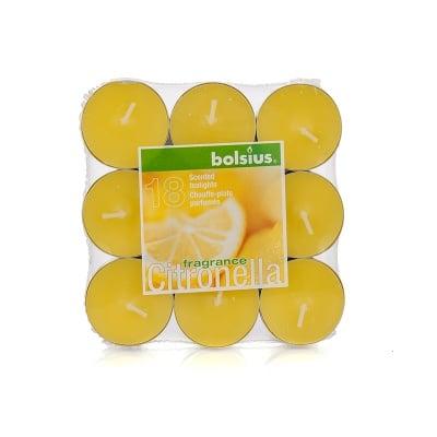 Чаени свещи 18 бр. лимон