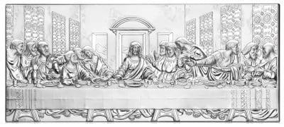 Тайната вечеря - сребриста