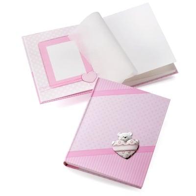 Албум за бебе 20 * 25 см, розов