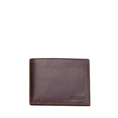 Мъжки портфейл тъмно кафяв CHIARUGI