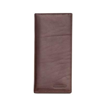 Тъмно кафяв портфейл вертикален CHIARUGI