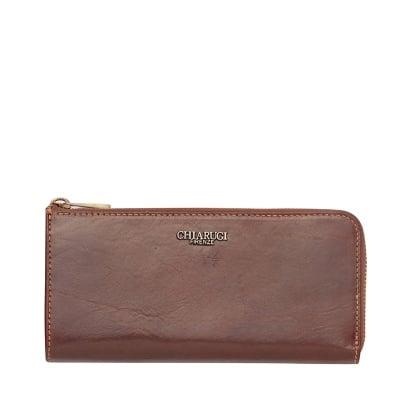 Кафяво портмоне с цип CHIARUGI